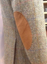 Harris Tweed detailfoto