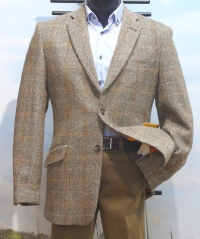Harris Tweed from Scotland, model Hamish iets langer model